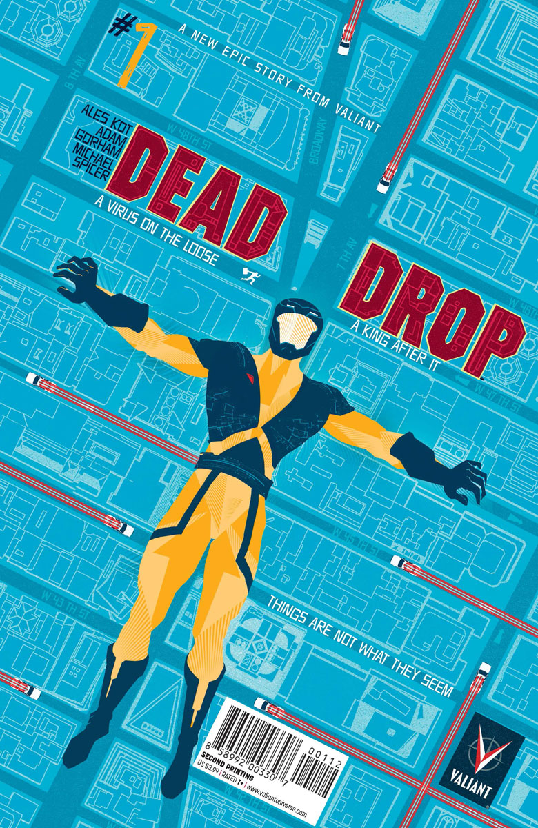 Valiant Announces 2nd Print Of Dead Drop 1 And Previews