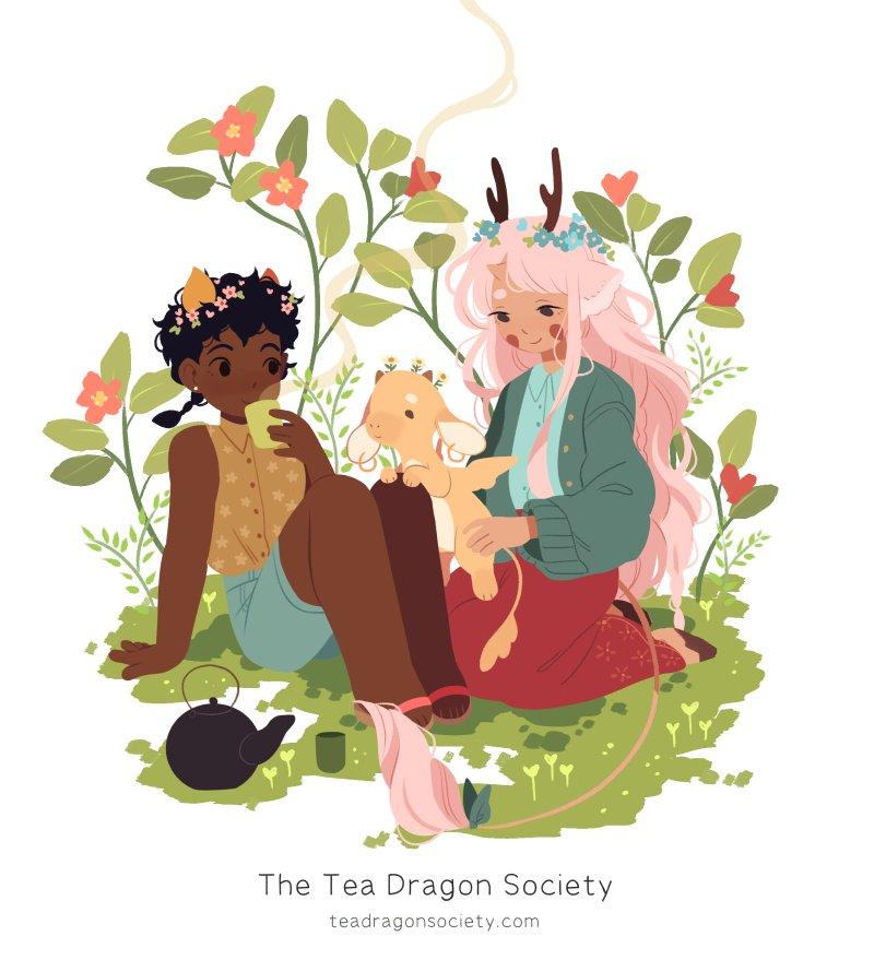 Image result for tea dragon society