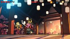 Wonder Boy: The Dragon's Trap boss samurai new