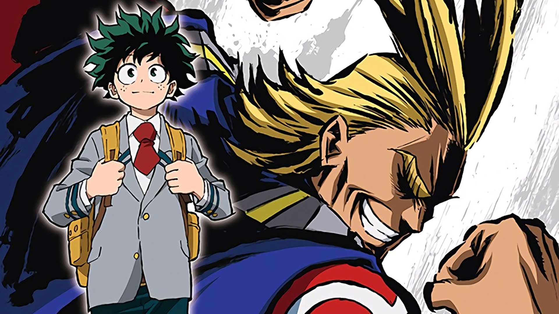 All Might Izuku Deku My Hero Academia Boku No Hero Academia