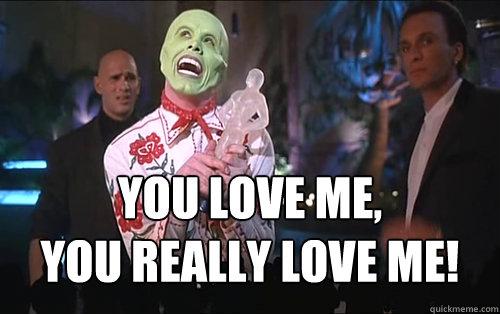 The Mask You Love Me gif