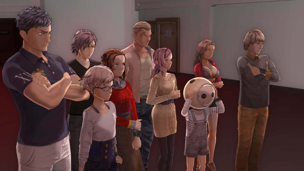Zero Escape: Zero Time Dilemma Cast