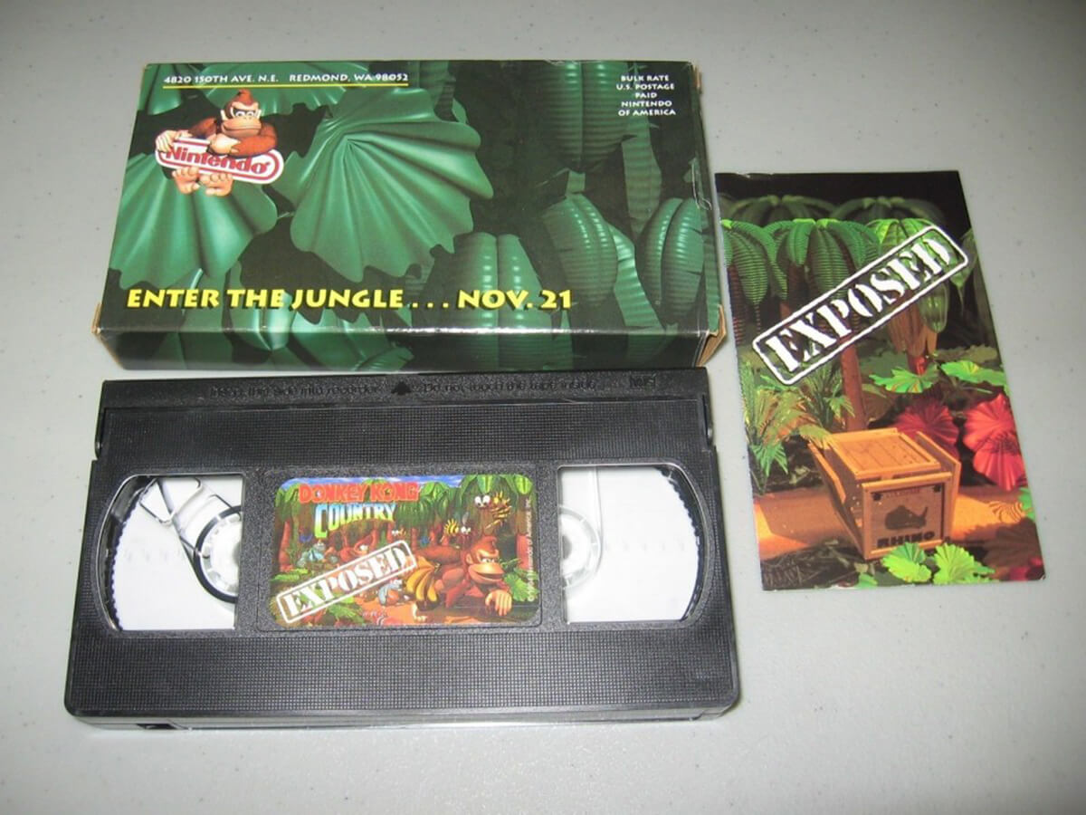 Donkey Kong Country Preview VHS