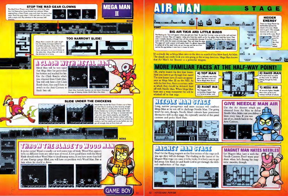 Mega Man 2 Strategy Nintendo Power Issue 34 March 1992