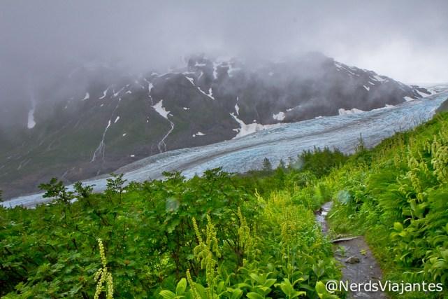 Trilha para o Harding Icefield - Alasca