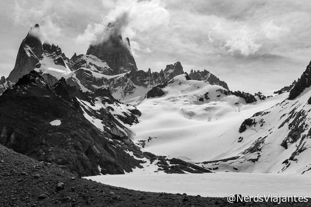 Uma última foto do Fitz Roy e da Laguna de los Tres - Patagonia Argentina