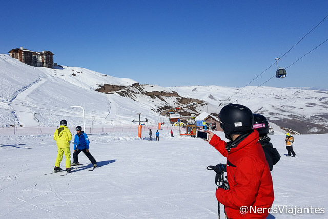 Aula de esqui no Valle Nevado Ski Resort - Chile