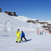Valle Nevado Ski Resort - Aula de Esqui