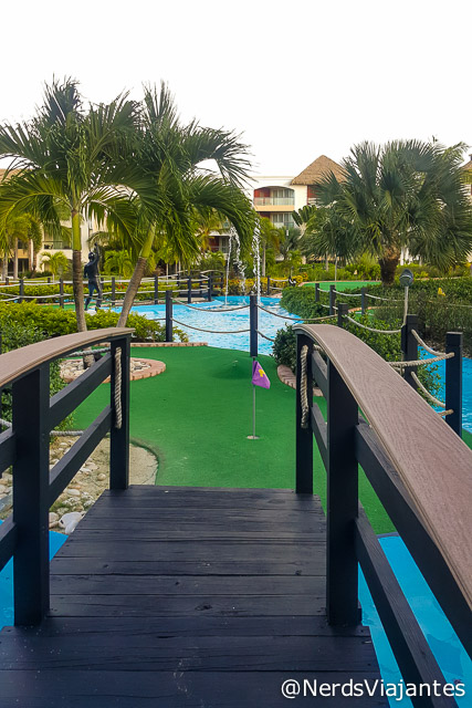 Mini Golf no Hard Rock Hotel & Casino Punta Cana - República Dominicana