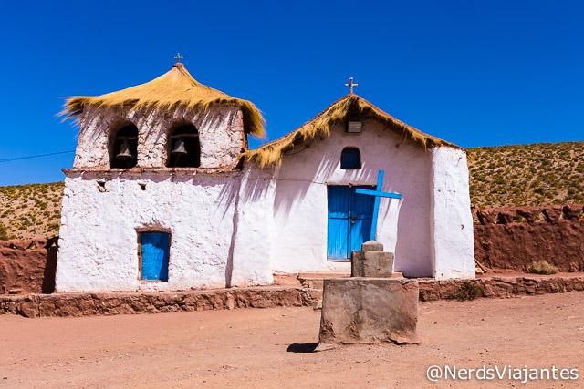 Igreja do Povoado de Machuca no Atacama - Chile