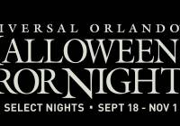 2015 Halloween Horror Nights 2015