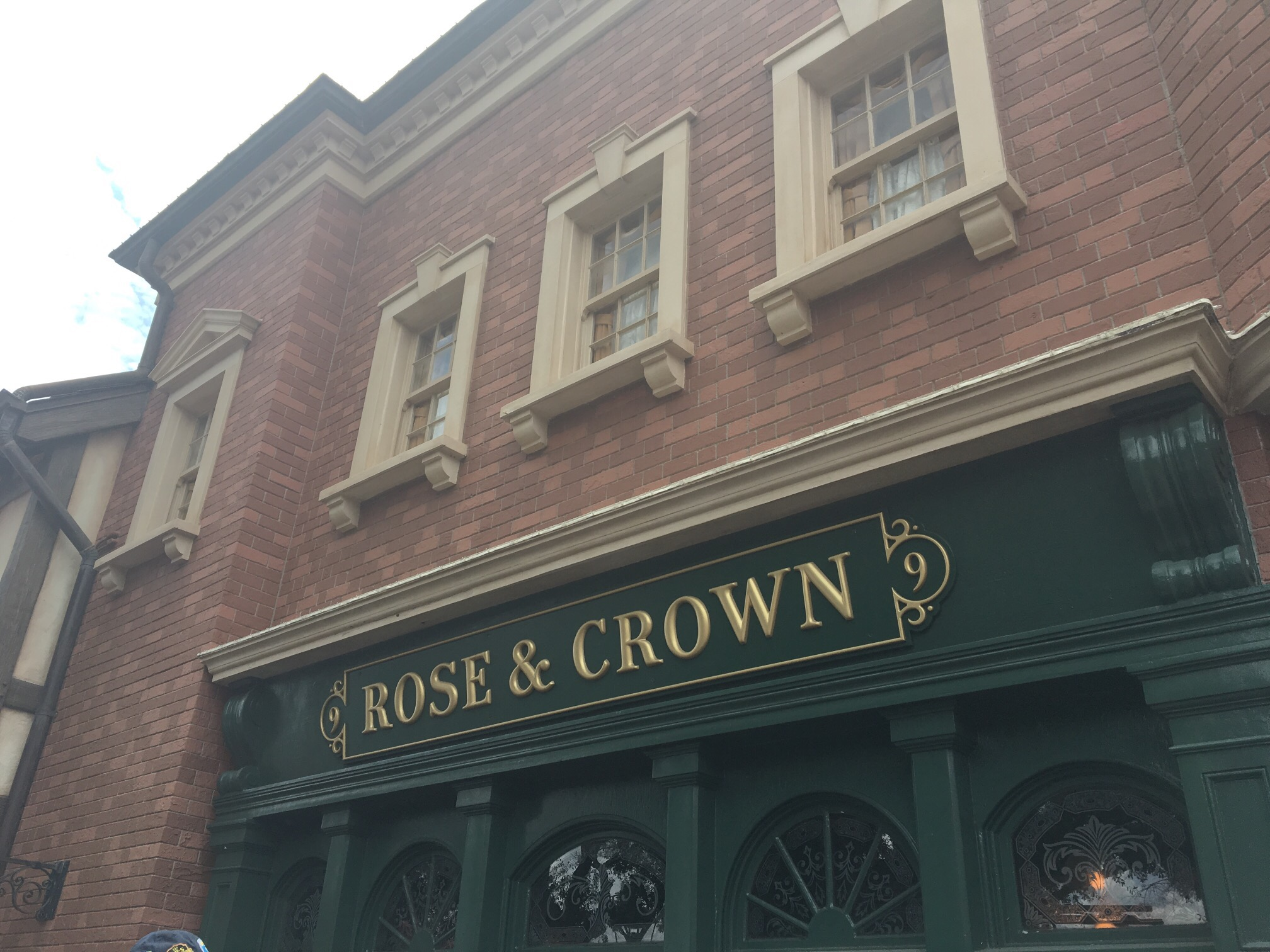 Dining At Disney: Rose And Crown Dining Room Part 50