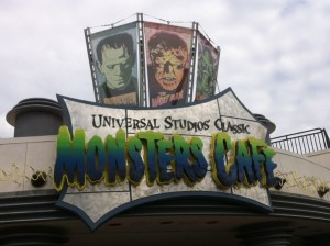 universal's monsters cafe