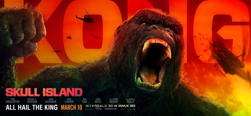 CINEMA | Kong: A Ilha da Caveira – Novo vídeo mostra o gorila lutando com criatura gigante!