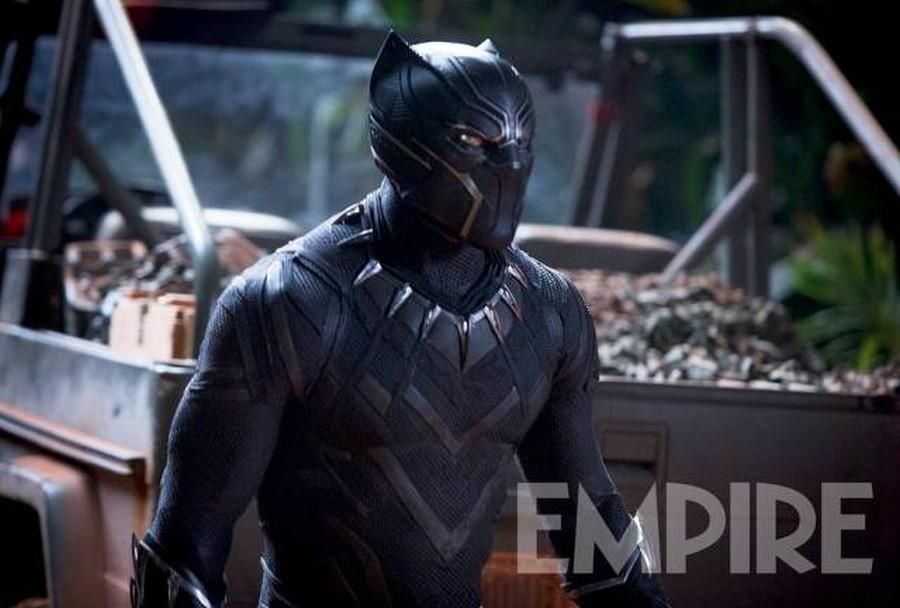 Pantera Negra   Novo traje é revelado pela Empire