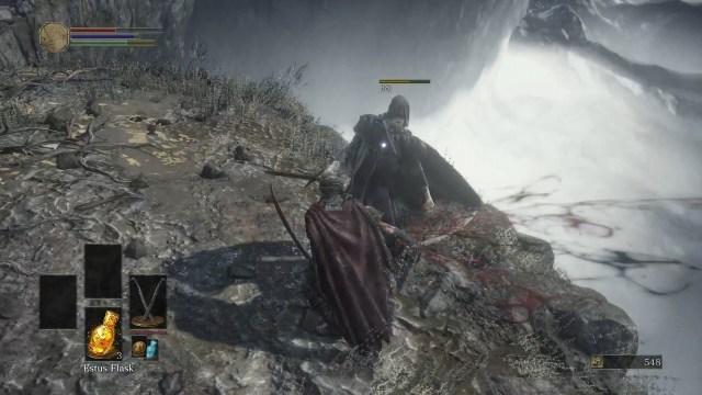 dark souls 3 mountain 2