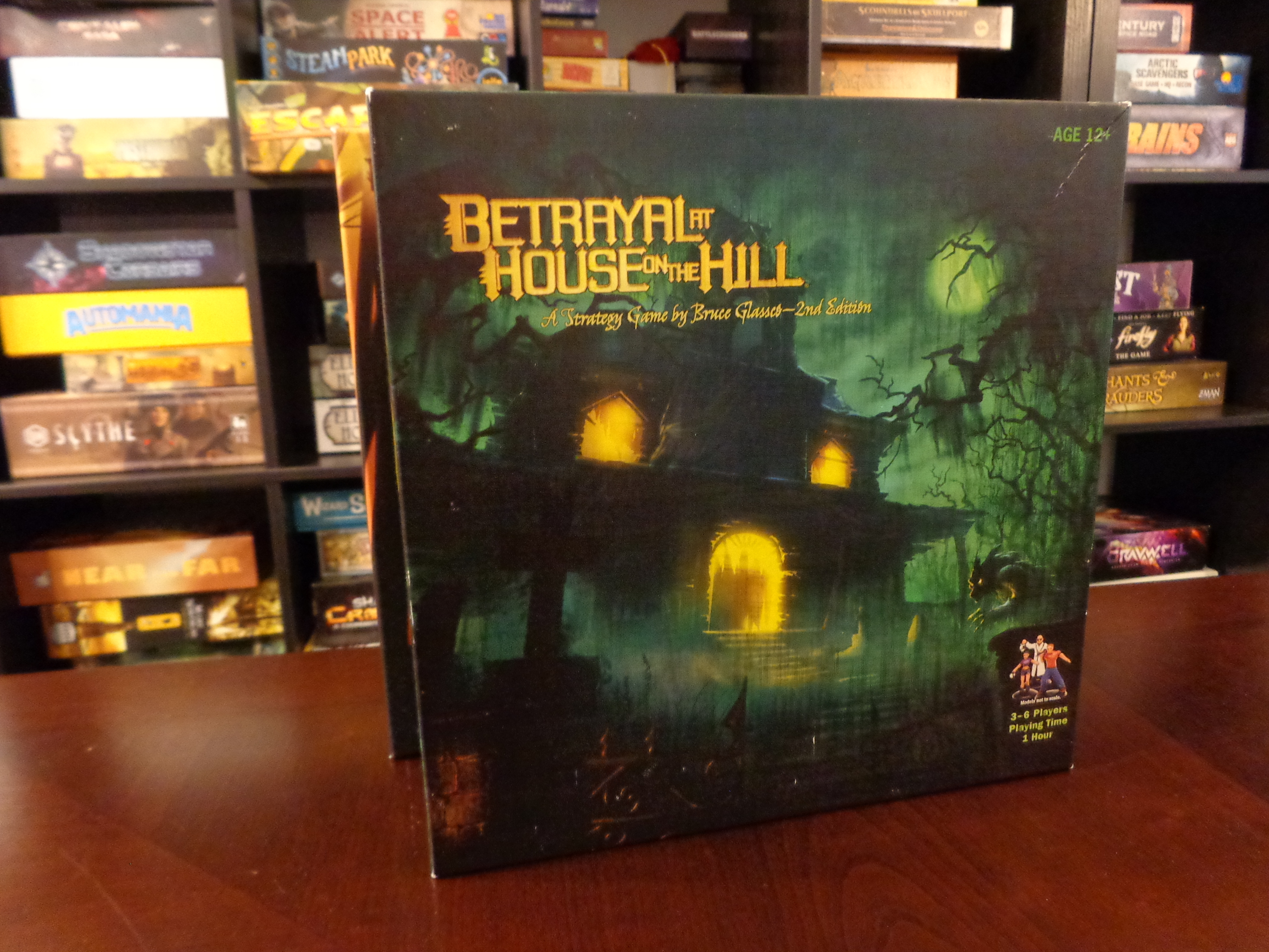 Betrayal at House on the Hill Oh A Haunting We Will Go