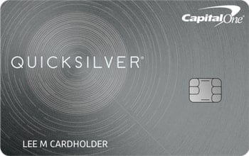 Quicksilver Capital One credit card