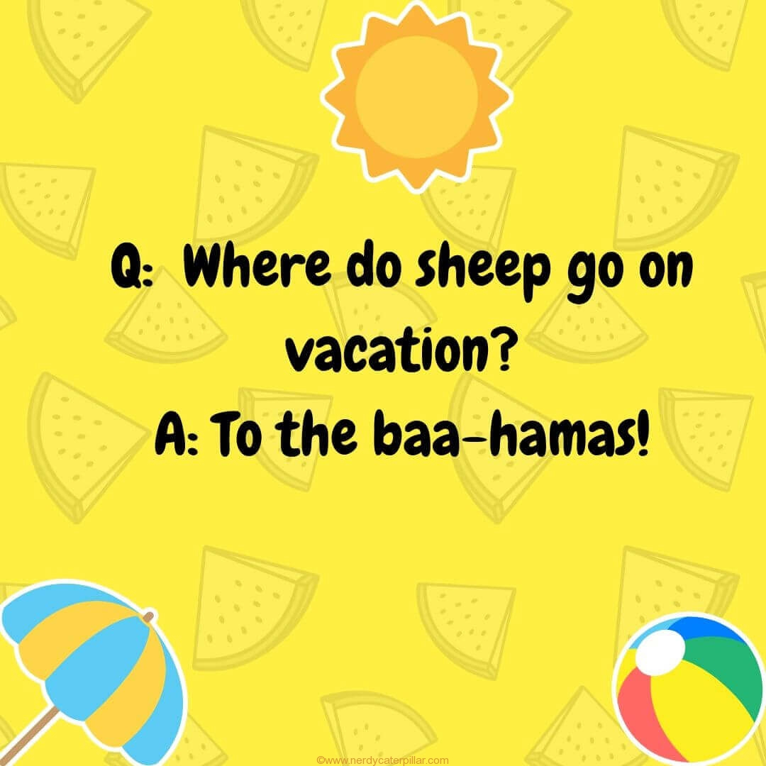 60 Summer Jokes For Kids