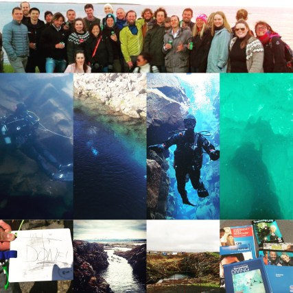 divemaster collage iceland