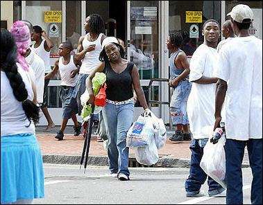 Katrina looters