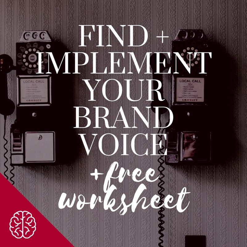 Find + Implement Your Blogging Brand Voice!