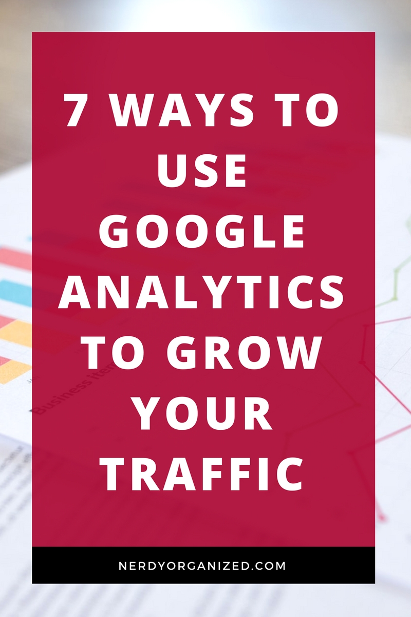 Wanna know 7 tricky ways I use Google Analytics, for free, to influence my blogging strategy and grow my traffic FAST?! Here are ALL my secrets! #blogging #seo #blogseo #traffic #blogtraffic #growyourblog #bloggingtips
