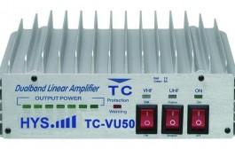 Dual band Portable  Amplifier TC-VU50 ( VHF and UHF )