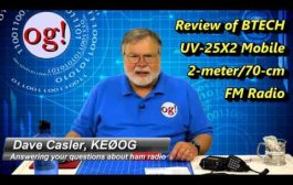 Review of BTECH UV-25X2 Mobile 2m/70cm FM Radio