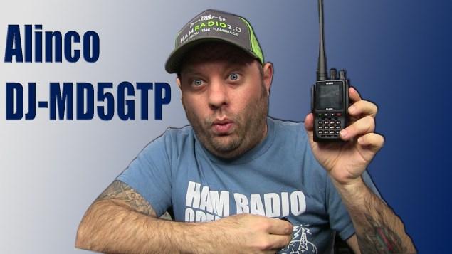 Alinco DJ-MD5 Dual Band DMR HT Radio - Nerfd net - RF News