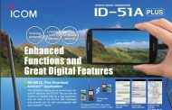 ICOM ID-51A-PLUS2 Handheld Transceivers