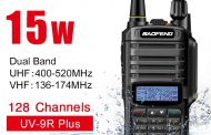 Baofeng UV9R Plus Waterproof –  Dual Band FM VHF UHF