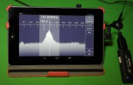 SDR Touch demo on Android device using SDRplay RSP