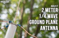 2 Meter VHF Quarter Wave Ground Plane Antenna – Ham Radio Q&A