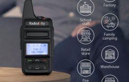 RADIODDITY GD-73A/E | DMR | UHF/PMR | USB PROGRAM & CHARGE | 2600MAH | SMS | HOTSPOT USE