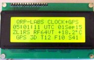 QRP Labs Clock Kit and GPS Receiver Kit