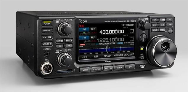 Overview of the Icom IC-9700 SDR VHF/UHF Transceiver - Nerfd