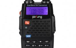 BaoFeng BF-F9 +TP Two-Way Radio, Dual Band UHF/VHF Ham 136-174/400-520MHz Tri-Power 1/4/8W