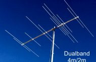 A Dualband 50/70MHz Yagi with single feedpoint – 5/7 (12) element 144/70MHz Yagi (2.4m)