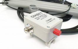 UltraLight MLA antenna ver. 4 designed for lower HF bands.