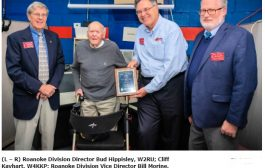 Oldest Known US Ham Receives ARRL Centurion Award