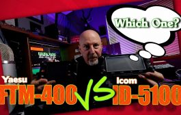 Icom ID5100 vs Yaesu FTM400 for adventure travel
