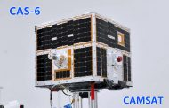 CAMSAT Says CAS-6 Activation for Amateur Use has been Delayed