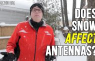 Does Snow Affect Vertical Antenna Performance – Ham Radio Q&A