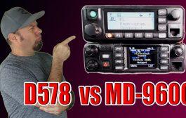 Anytone AT-D578 vs TYT MD-9600 | DMR Mobile Radio Comparison