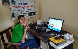 Indian radio hams interviewed by UK radio station