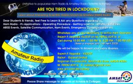 Coronavirus: Initiative to popularise Amateur Radio and Satellite activities