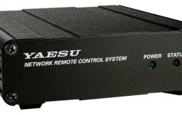 "Yaesu on April 27, 2020, introduced a network remote control system LAN unit ""SCU-LAN10"""