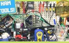 Ham Radio Shack Convenience Items and Tools