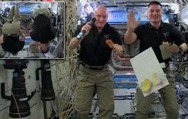 Happy Thanksgiving, From Space! Kjell Lindgren KO5MOS